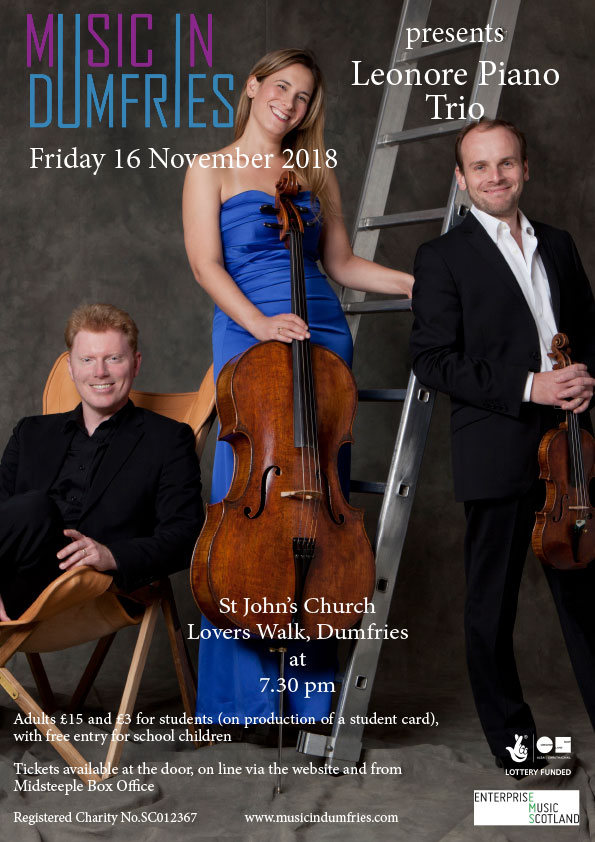 Leonore Piano Trio - Friday 16 November 2018