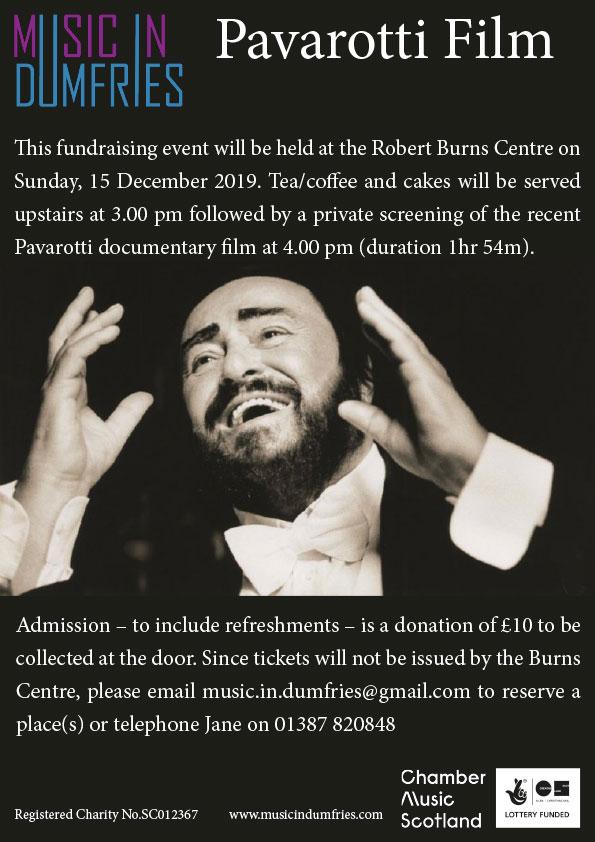 Pavarotti Event