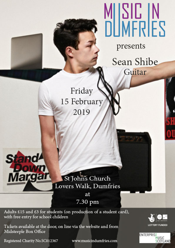 Sean Shibe, Guitar - Friday 15 February 2019