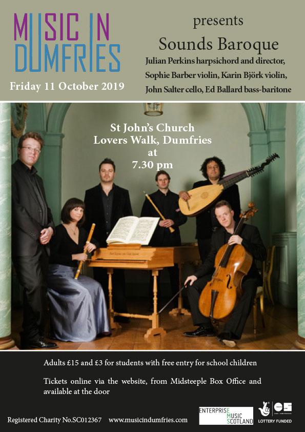 Sounds Baroque - October 2019